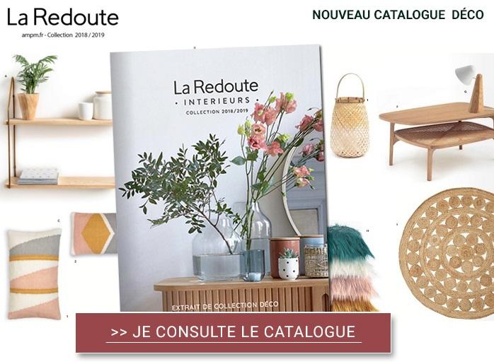 La Redoute Intérieurs : les 3 tendances du catalogue spécial décoration 2018/2019