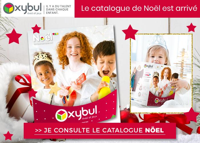 Oxybul : nouveau catalogue de jouets pour Noël à consulter