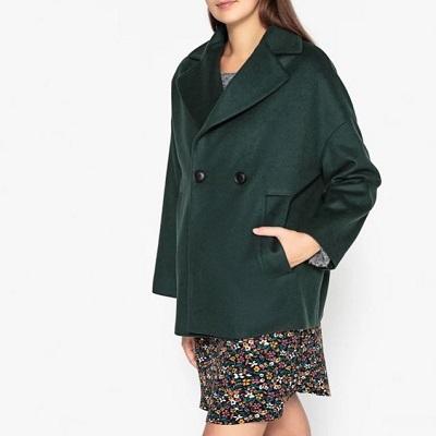 Craquer pour le manteau en laine et cachemire soldé à -60% dans La Brand Boutique La Redoute