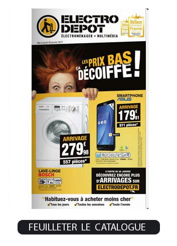 Catalogue ELECTRO DEPOT à feuilleter en ligne sur