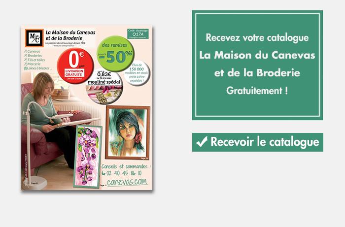 Maison du canevas et de la broderie le nouveau catalogue printemps t 2017 - La maison de la broderie ...