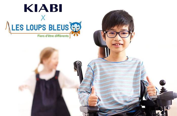 """""""Fiers d'être différents"""" la collection enfant adaptée au handicap"""
