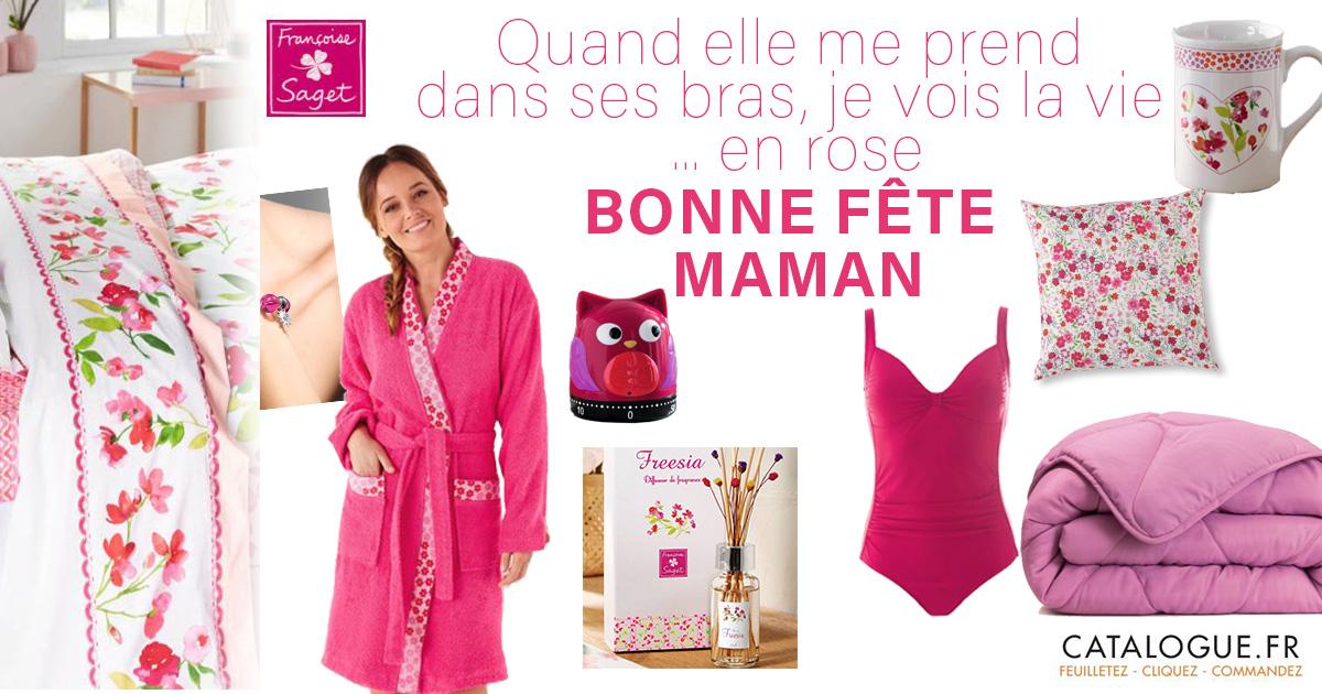 Fran oise saget jusqu 39 50 pour voir la vie en rose - Catalogue francoise saget soldes ...