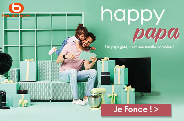 Boulanger Happy Papa