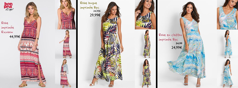 Bonprix, découvrez notre sélection spéciale Robes Longues pour un été en beauté !