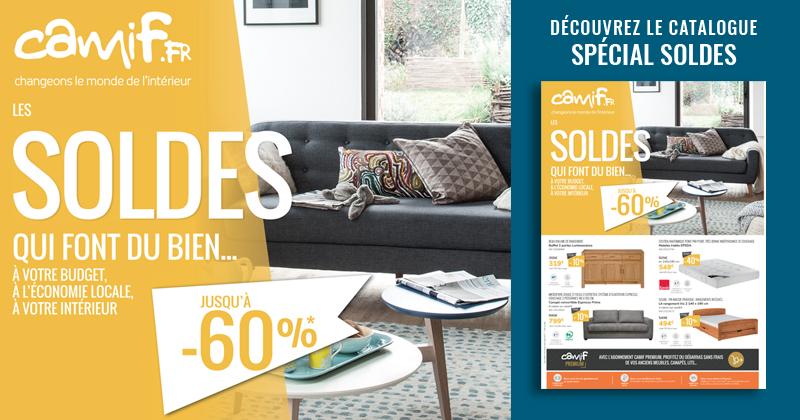 camif nouveau catalogue soldes d 39 t. Black Bedroom Furniture Sets. Home Design Ideas