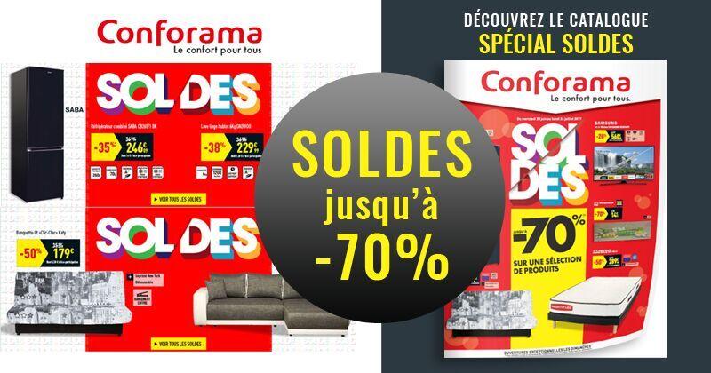 Conforama le catalogue soldes d 39 t est sorti for Conforama soldes 2017