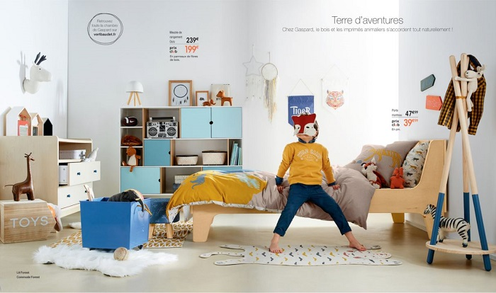 catalogue vertbaudet nouvelle collection home automne hiver 2017 2018. Black Bedroom Furniture Sets. Home Design Ideas