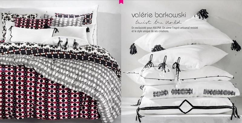 Cliquez ici pour voir la nouvelle collection de linge de maison Valérie Barkowski AM.PM
