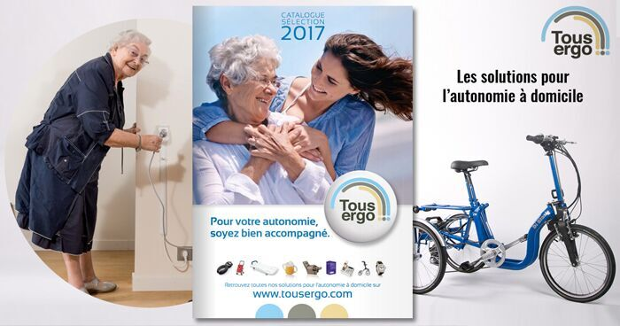 Nouveau catalogue Tousergo : pour plus d'autonomie !