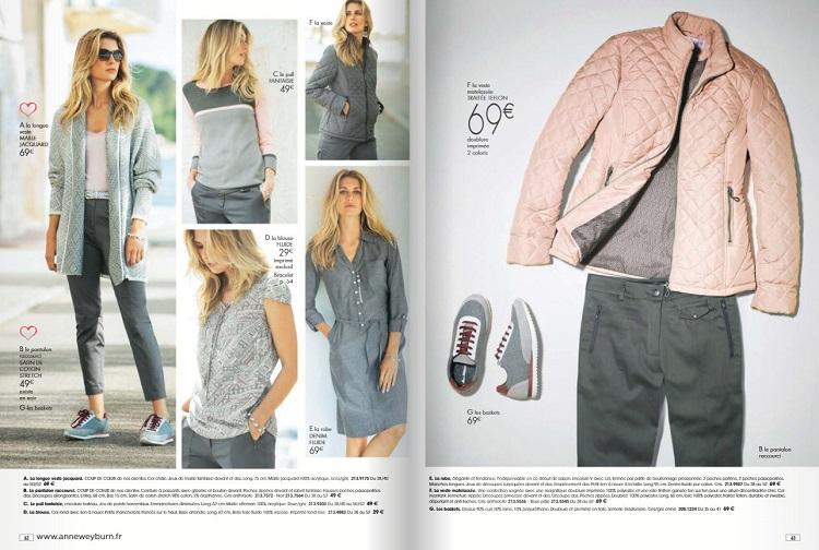 Nouveau Catalogue Anne Weyburn Automne Hiver 2017