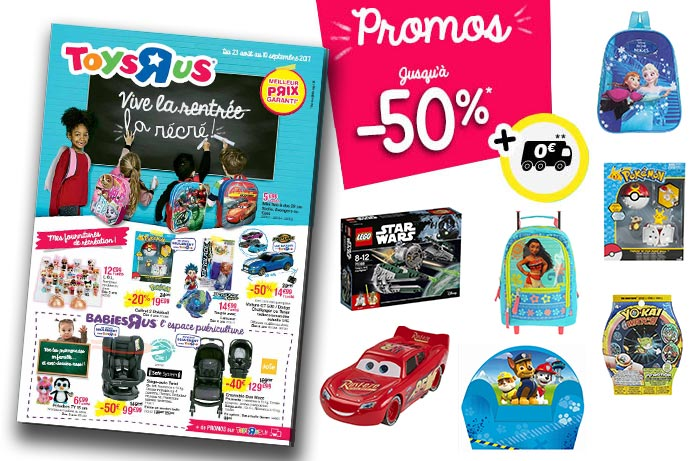 Cliquez ici pour feuilleter le catalogue Toys'R'Us