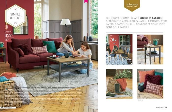 la redoute int rieurs nouveau catalogue a h 2017. Black Bedroom Furniture Sets. Home Design Ideas