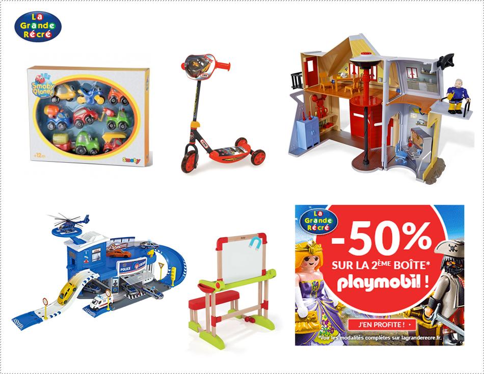 Les catalogues de jouets de no l arrivent - Maison jardin grande recre orleans ...