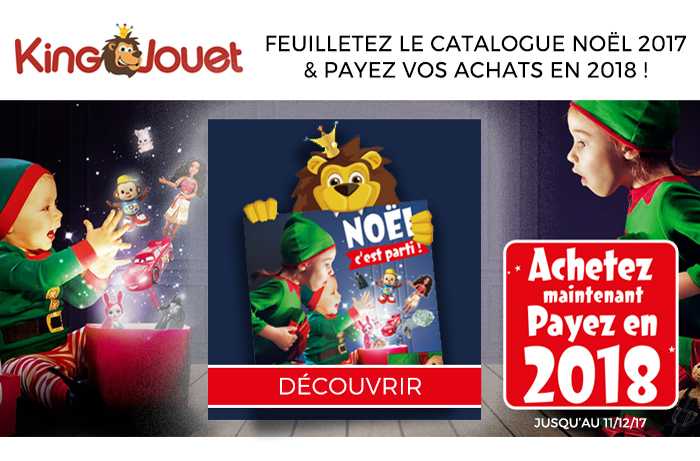 catalogue king jouet pour noël 2018 Catalogue King Jouet : Noël, c'est parti ! catalogue king jouet pour noël 2018