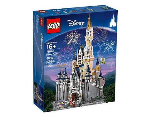 Le Château Disney Lego