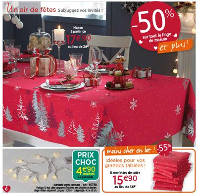 Cliquez ici pour voir les nappes de Noël Françoise Saget