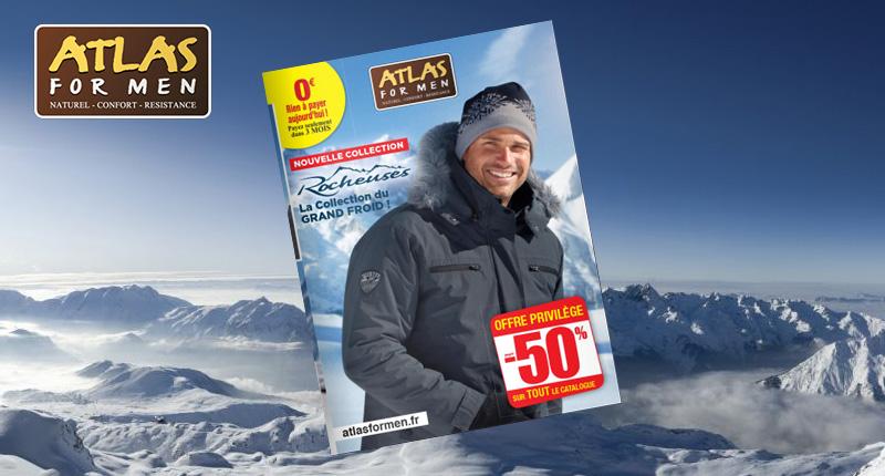 Atlas for men : Collection du GRAND FROID !