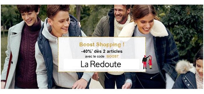 Voir l'offre Boost Shopping La Redoute
