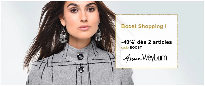 Voir l'offre Boost Shopping Anne Weyburn