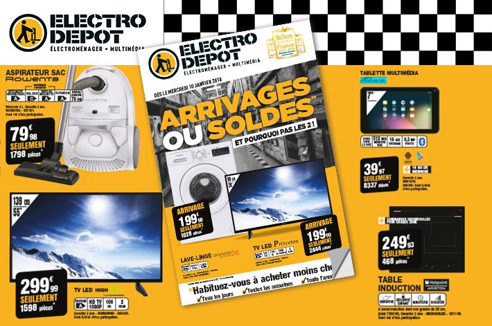 Cliquez pour feuilleter le Catalogue Electro Depot