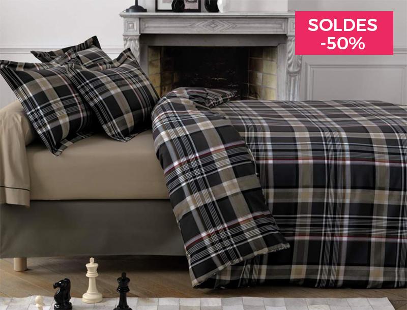 linvosges soldes 50 pour le linge de maison. Black Bedroom Furniture Sets. Home Design Ideas