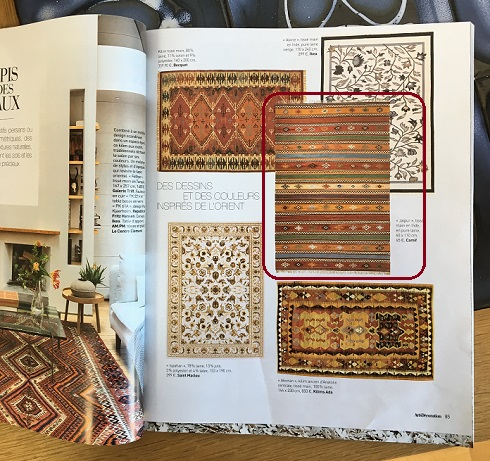 Voir le tapis Jaipur de chez Camif