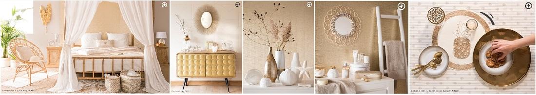 Voir la collection Golden Oasis du catalogue Maisons du Monde