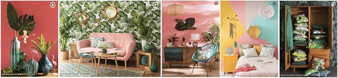 Voir la collection Sweet Tropical de chez Maisons du Monde