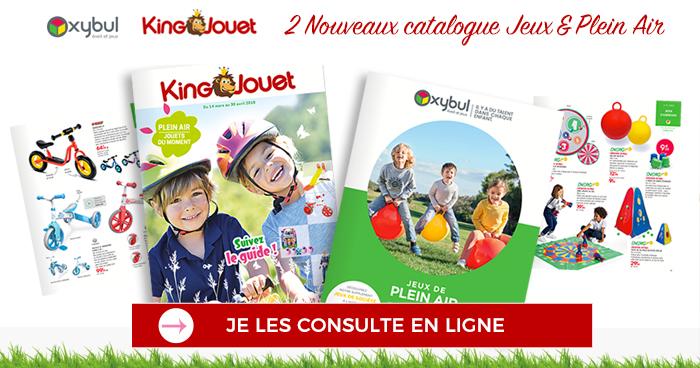 Feuilleter les catalogues Oxybul et King Jouet