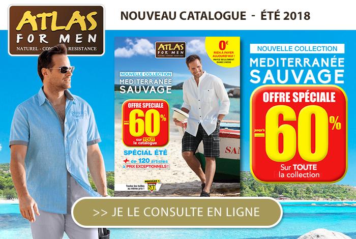 Atlas for Men : nouveau catalogue à feuilleter et jusqu'à 60% !