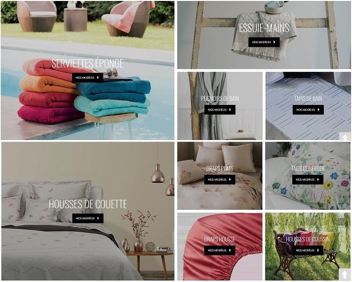 Cliquez ici pour découvrir les collections de linge de lit Garnier Thiebaut