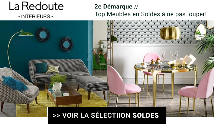 la redoute int rieurs 12 meubles en soldes ne pas louper. Black Bedroom Furniture Sets. Home Design Ideas
