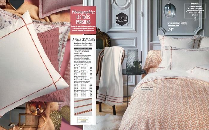 Consulter le nouveau catalogue Linvosges automne hiver 2018