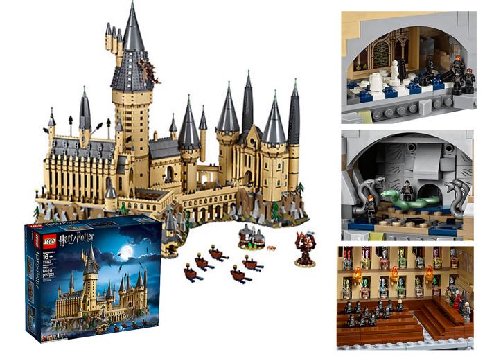 Le château de Poudlard LEGO - je clique ici pour le découvrir