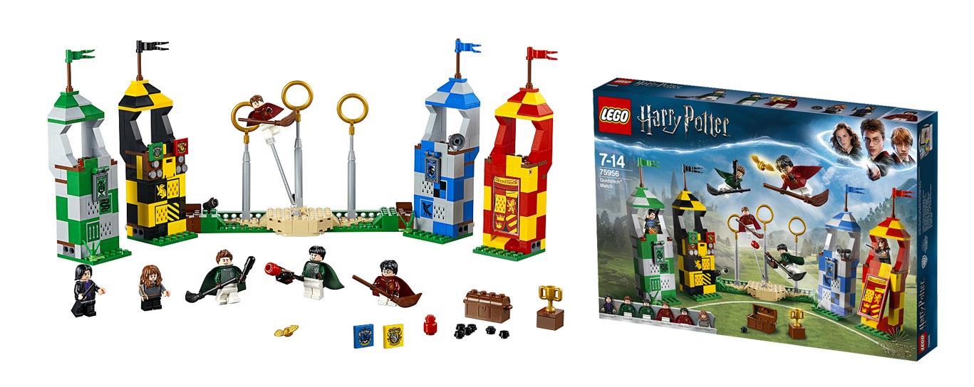 Le match de Quidditche - LEGO Harry Potter - Je clique ici pour le découvrir