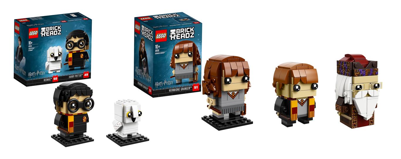 Tous les LEGO BrickHeadz - Je clique ici