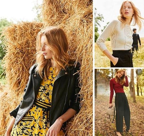 Cliquez ici pour voir les vêtements femme de La Redoute Collection automne 2018