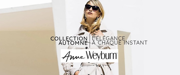Anne Weyburn Collection Automne Hiver 2018 à Découvrir