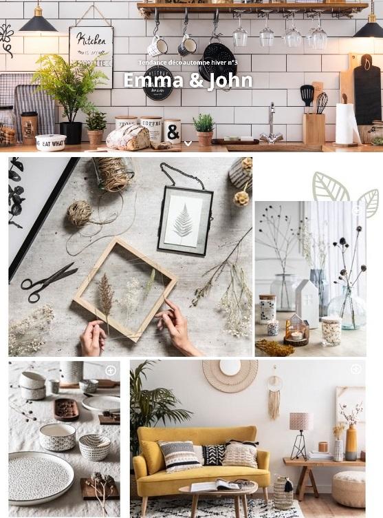 Cliquez ici pour découvrir la collection Emma & John