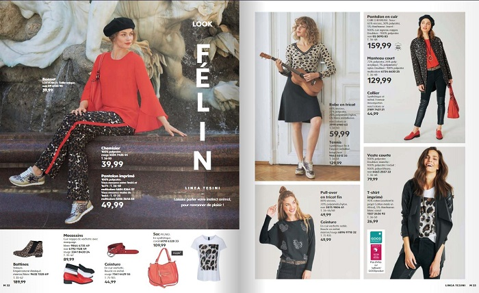 Voir le catalogue Helline automne hiver 2018