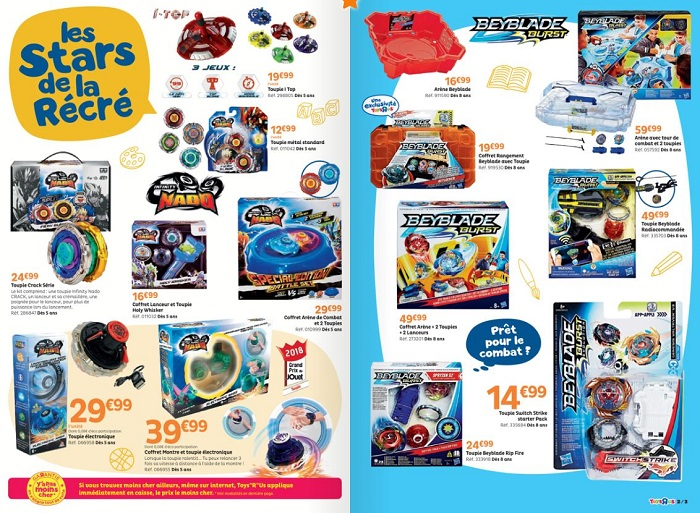 Voir le catalogue Toy'R'us