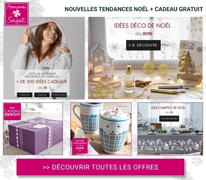 Françoise Saget : Faîtes le plein d'idées de cadeaux et de déco pour Noël !