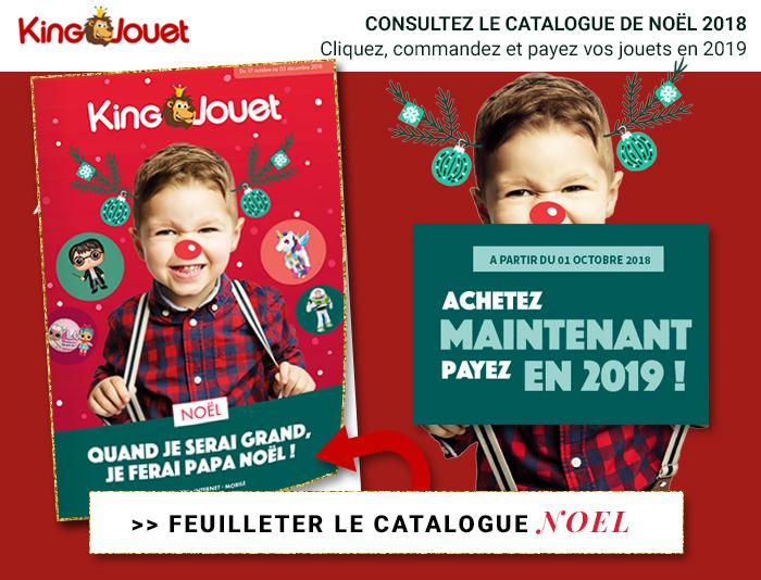 King Jouet : catalogue Noël 2018 à consulter !
