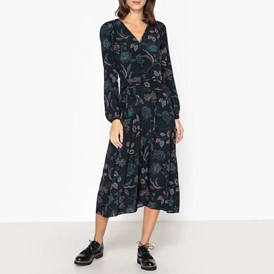 Découvrir la robe longue Bérénice disponible dans la Brand Boutique La Redoute