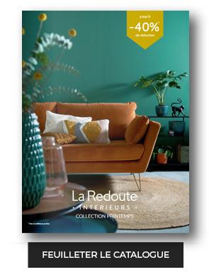 Cliquez ici pour découvrir le dernier catalogue LA REDOUTE Intérieur