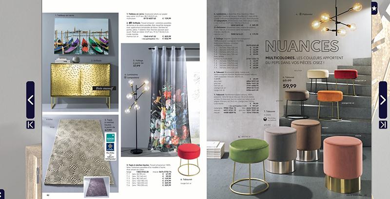 Vu page 83 du catalogue HELLINE DECO P/E 19