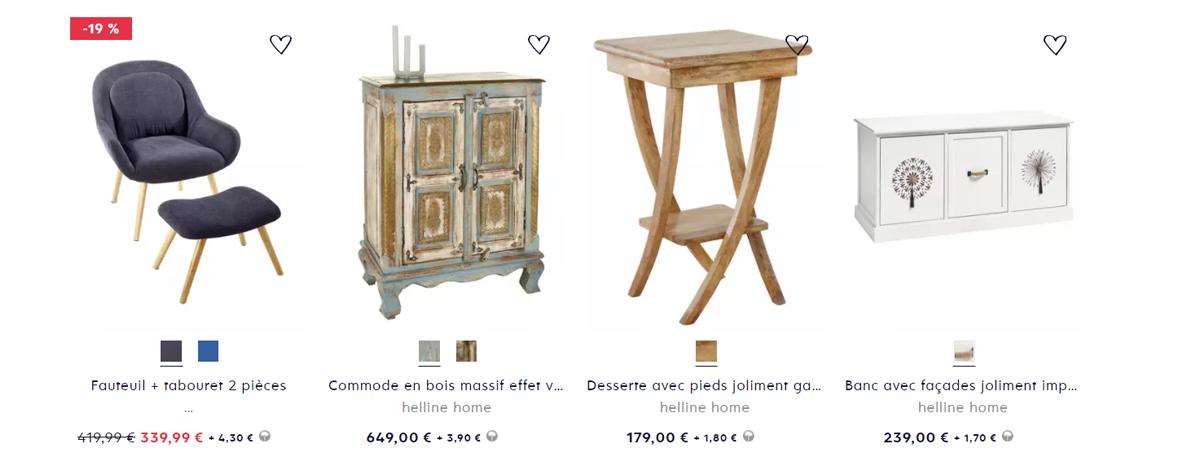 HELLINE - Tout sur la nouvelle collection automne hiver Mode et Maison du catalogue Helline 2021-22 disponible sur catalogue.fr !