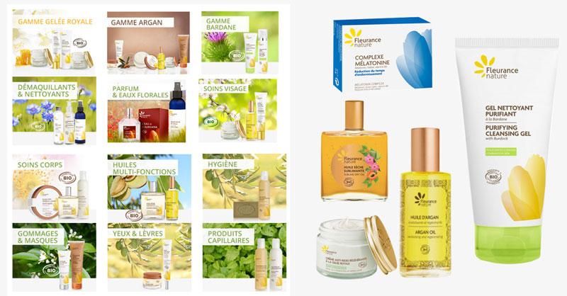 Fleurance Nature vous propose une large gamme de produit de beauté