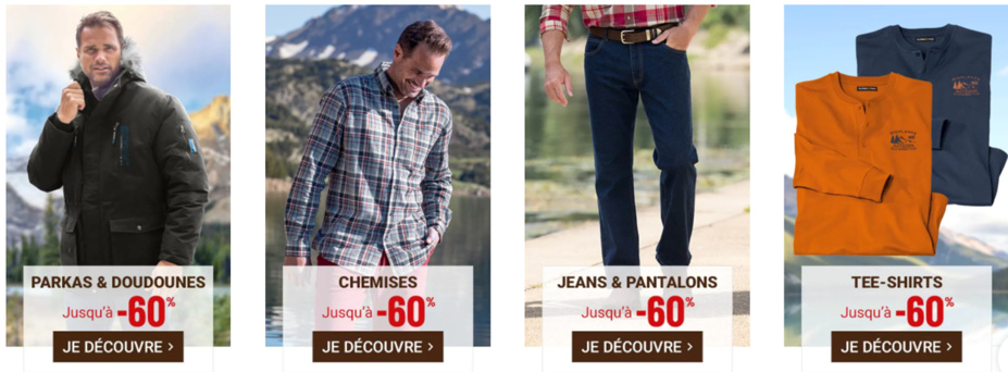 Voir la collection homme Atlas For Men